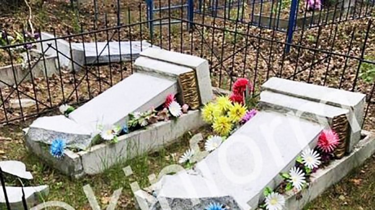 Країна вічного «побєдобєсія»: на Росії знову поглумилися над могилами