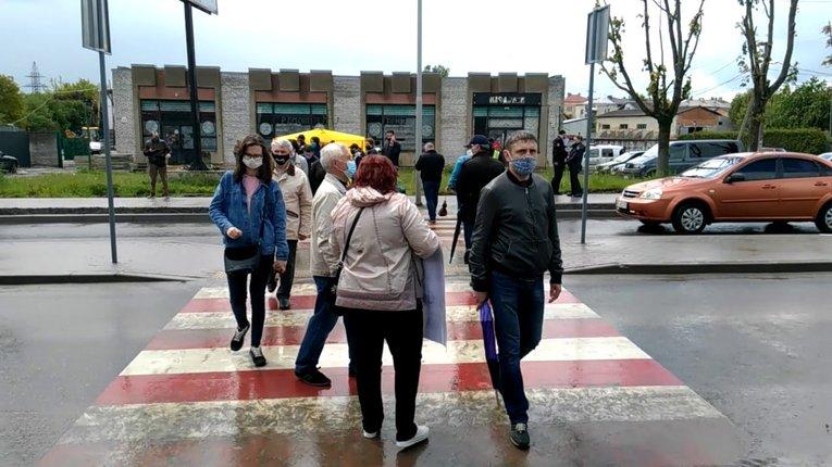 Мешканці міст Львівщини протестують проти приєднання до Львівської ОТГ