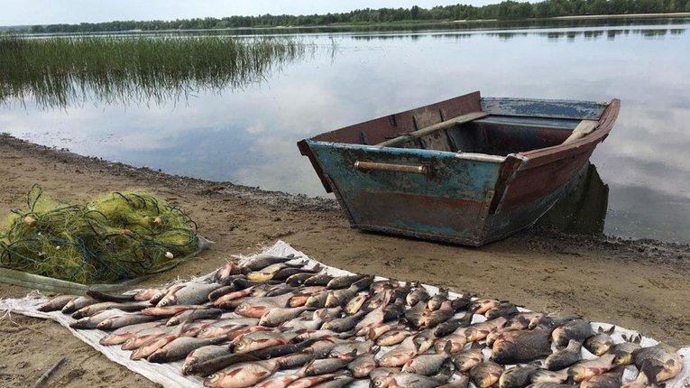 Факт «браконьєрства» зафіксували в акваторії Кам'янського водосховища на Полтавщині