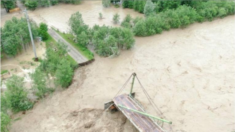 Одеській області теж загрожує повінь через негоду