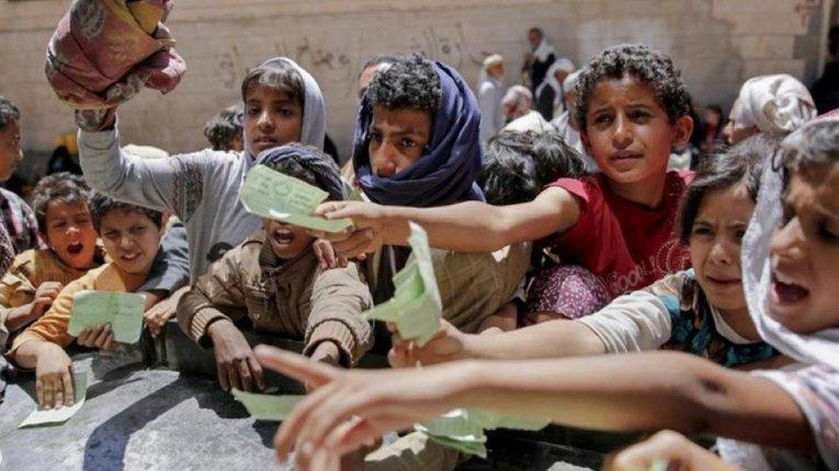 Громадянська війна в Ємені: мільйон дітей може померти упродовж року від голоду
