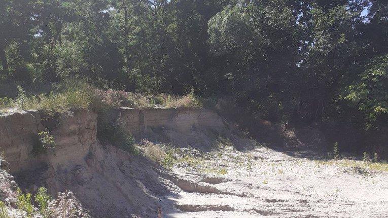На Полтавщині виявлено нове місце незаконного видобутку надр