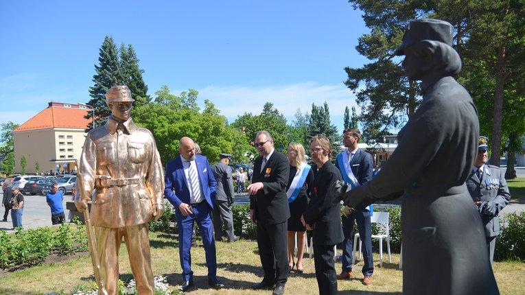 У Фінляндії відкрили пам'ятник полеглим на фронтах Другої світової війни добровольцям