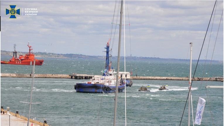 СБУ готується до боротьби з диверсантами у Чорному морі