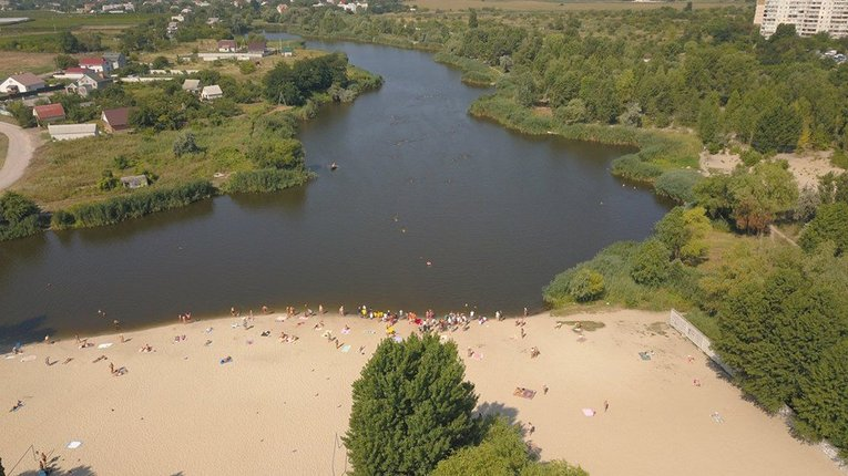 У річках, що протікають територією Кременчука, купатися небезпечно для здоров'я