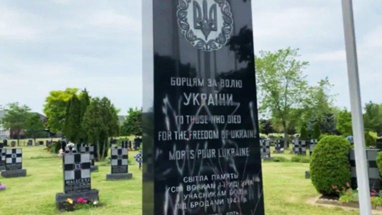 Вандали з угруповання BLM спаплюжили меморіал Дивізії «Галичина»
