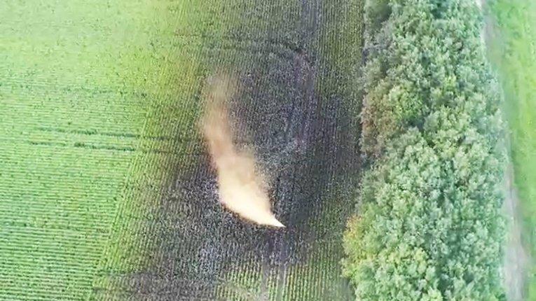 Незаконне врізання до газогону спричинило витік конденсату неподалік Опішні