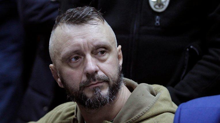 Андрій Антоненко в суді