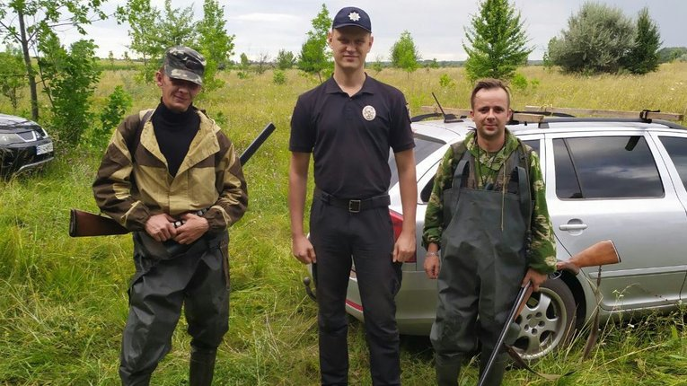 Мисливців Полтавщини перевіряють на наявність дозвільних документів