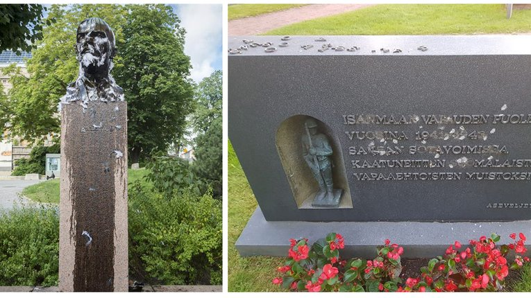 У Фінляндії набирає обертів «війна пам'ятників»