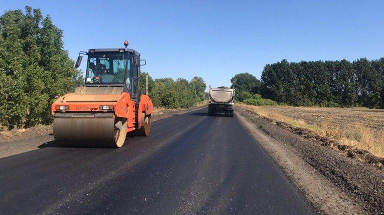 Скоро вибори: влада Опішні сповістила про виконання ремонту важливої дороги