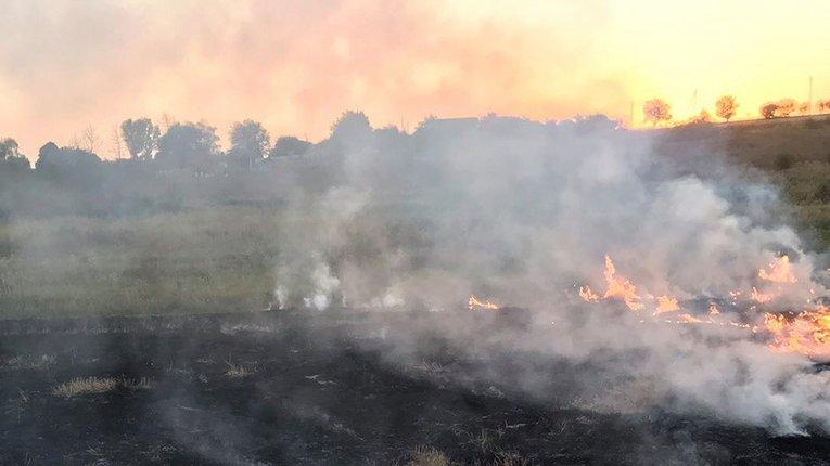 На Полтавщині оголосили високий рівень пожежної небезпеки