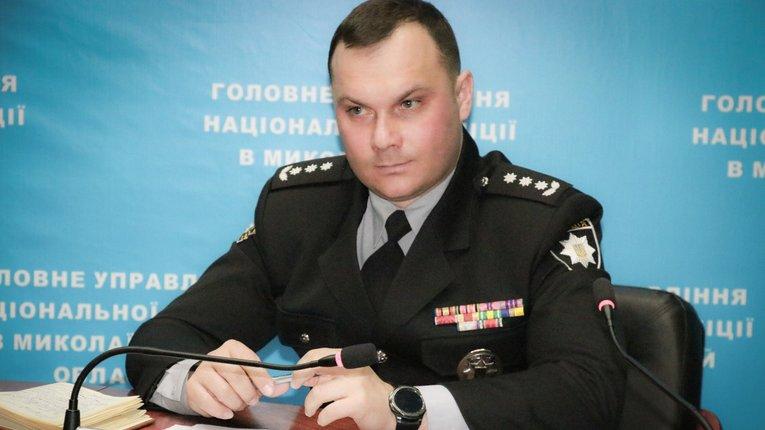 Начальник ГУ НП Полтавщини Вигівський «підсів» на трубу