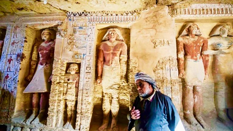 В єгипетській Сахарі виявлено нову гробницю, вік якої понад 2000 років