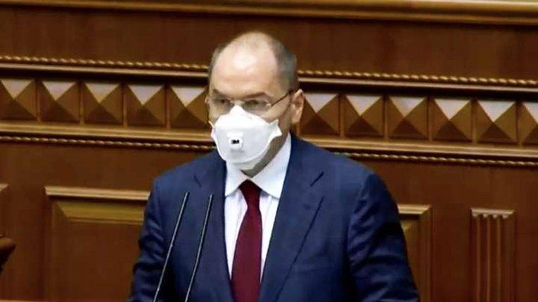 МОЗ не відповідає за індивідуальний захист у школах — міністр Степанов