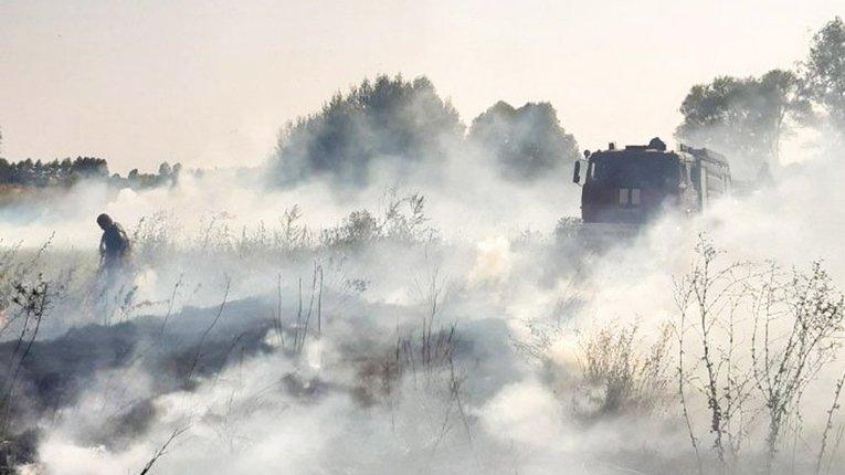 У Решетилівському районі загасили низку пожеж на відкритій території