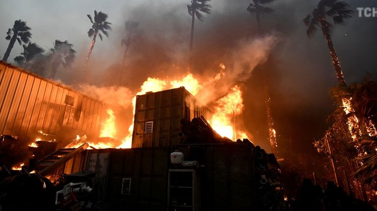 Масштабні лісові пожежі у США призвели до мільярдних збитків – Moody's