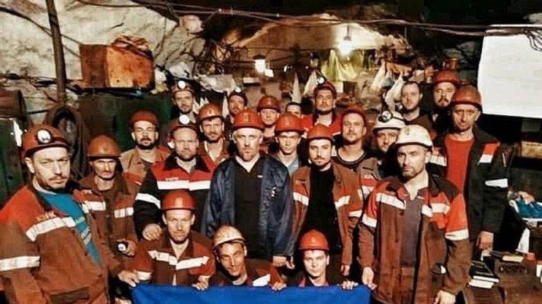 Підземний страйк шахтарів у Кривбасі триває вже 28 діб