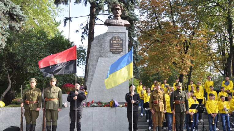 У Києві встановили пам'ятник Болбочану, який звільняв, Київ, Крим та Полтавщину від більшовиків