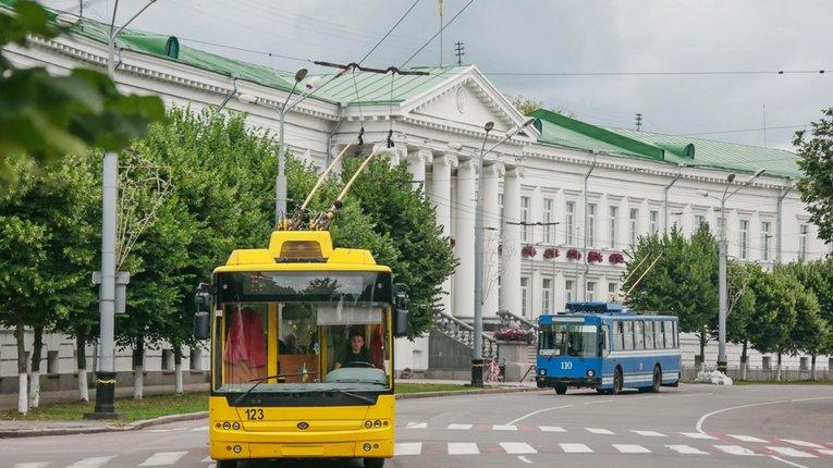 Полтавський транспорт