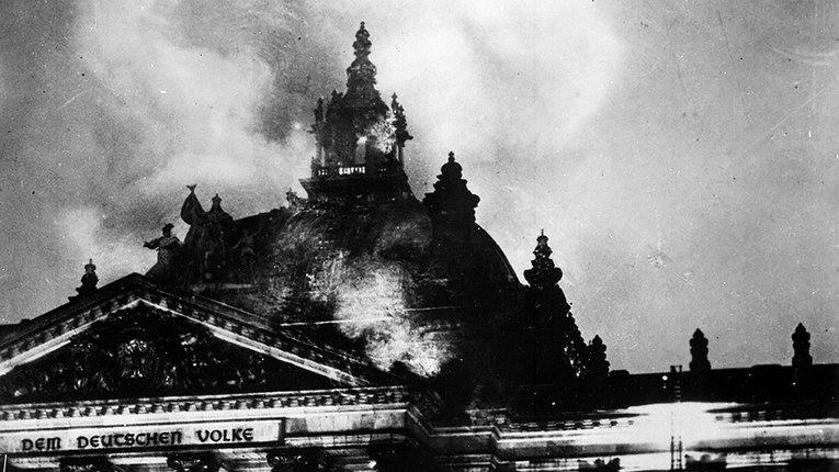27 лютого 1933 року. Рейхстаг у вогні