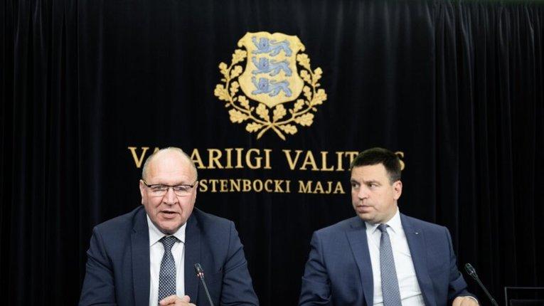 Март Гельме і Юрі Ратас