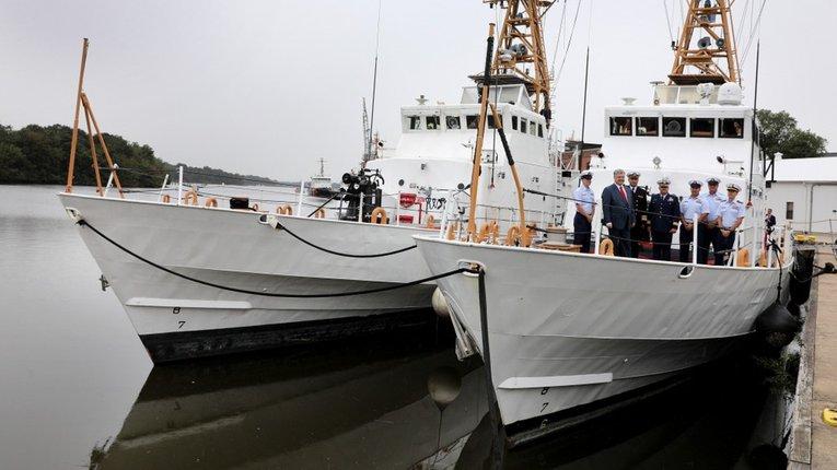 У ВМС зганьбилися з відео катеру на якому виявилася російська навігація