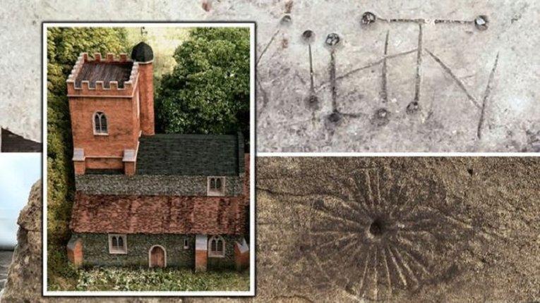 Церкву з «відьомськими знаками» виявили в одному з сіл Англії