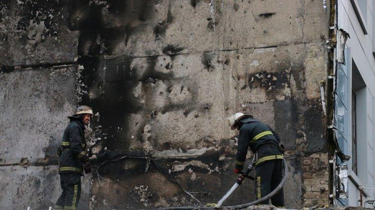 На Харківщині спалахнув м'ясокомбінат