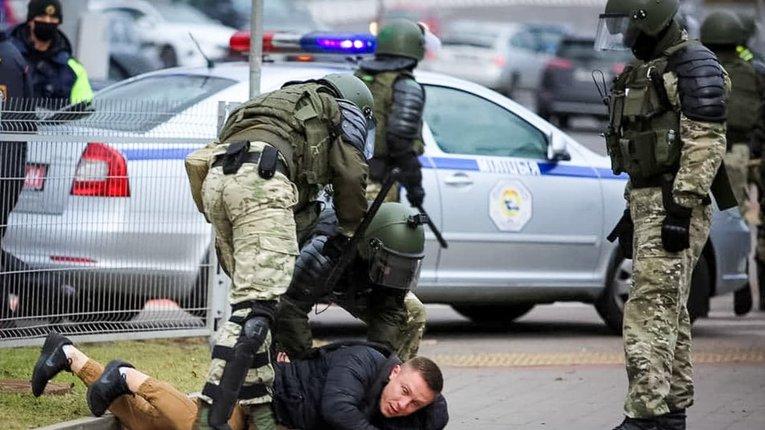 Білоруські правозахисники заявили про понад сотню затриманих 1 листопада