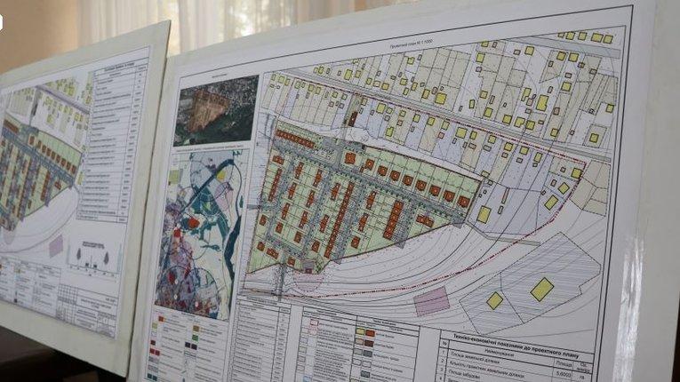 План кварталу на вул. Січових Стрільців