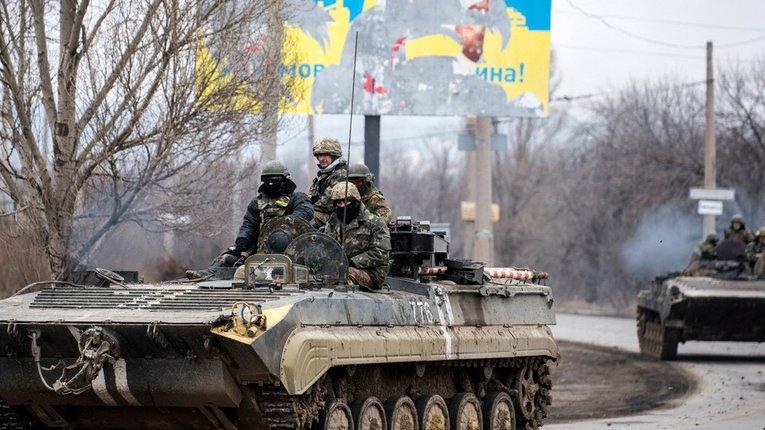 Бойовики потренували українських військових біля населеного пункту Гнутове