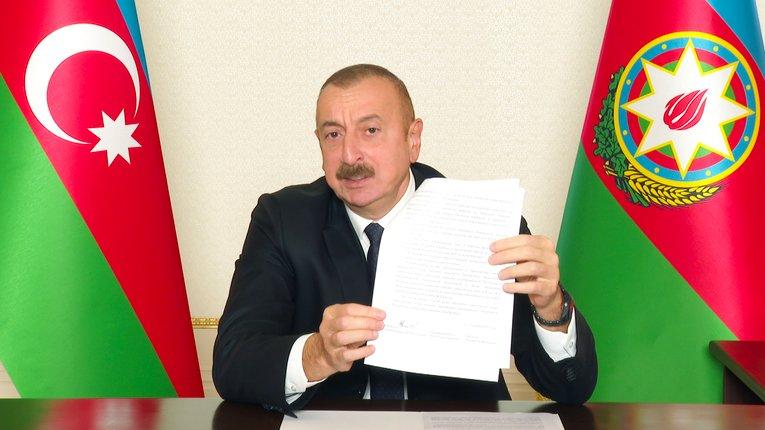 «Карабах повертається додому», — президент Азербайджану