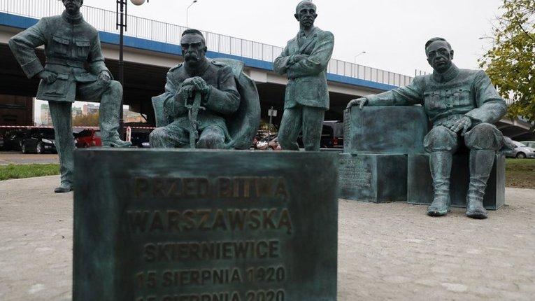 У Польщі відкрили пам'ятник уродженцю Полтавщини отаману Симону Петлюрі