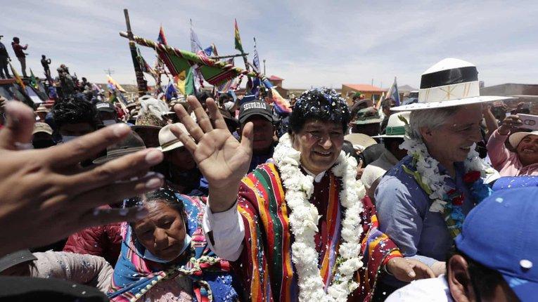 «Кокаїновий президент» Болівії уникнув відповідальності