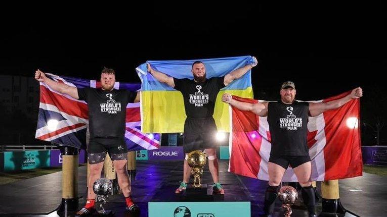 Українець Новіков став найсильнішою людиною планети у 2020 році