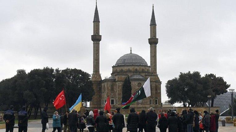 Протест у Баку: азербайджанці висловилися проти окупантів із РФ