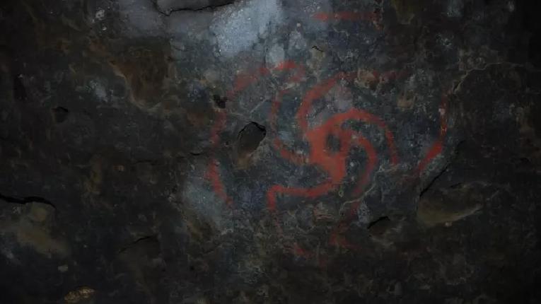 Раніше невідомий зразок індіанського печерного живописувиявили у Каліфорнії