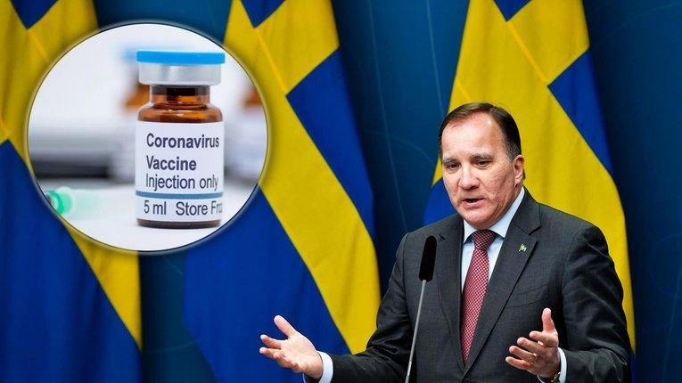 2 мільйони шведів вакцинують від COVID-19 ще до Великодня