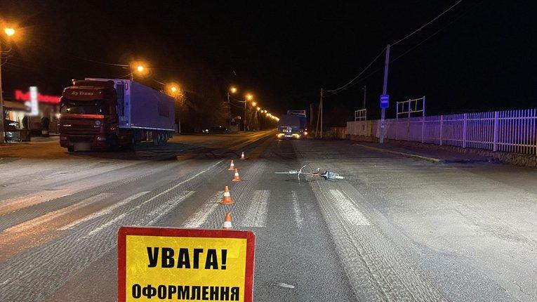 У Кременчуцькому районі внаслідок ДТП загинув велосипедист