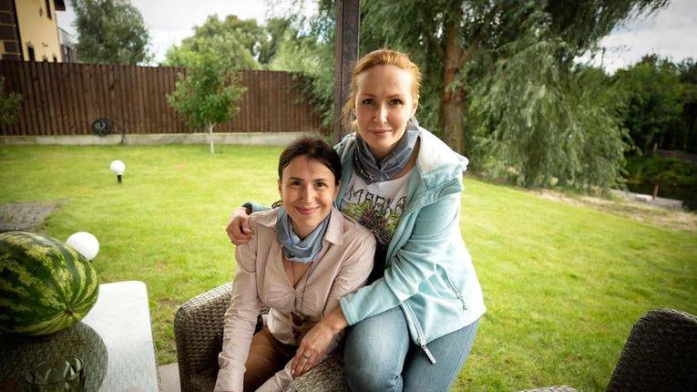 Тетяна Чорновіл і Юлія Кузьменко