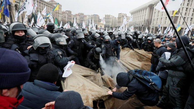 Чому акція підприємців на Майдані від початку була приречена на поразку