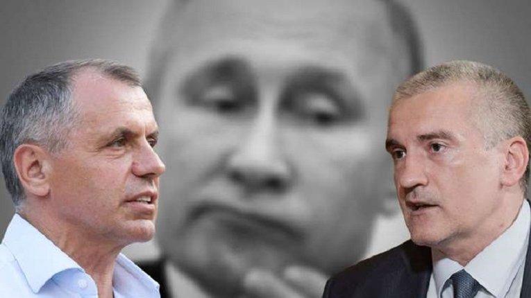 Сепаратист Аксьонов знову звинуватив Україну у спробах «нашкодити» окупантам