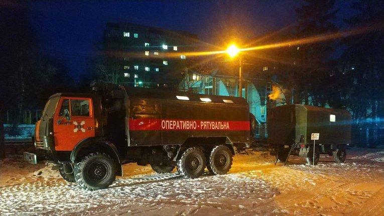 В Україні продовжують роботу пункти обігріву для населення – ДСНС