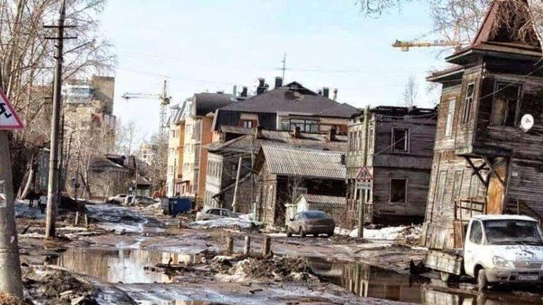 Обласний центр Архангельськ, який вражає