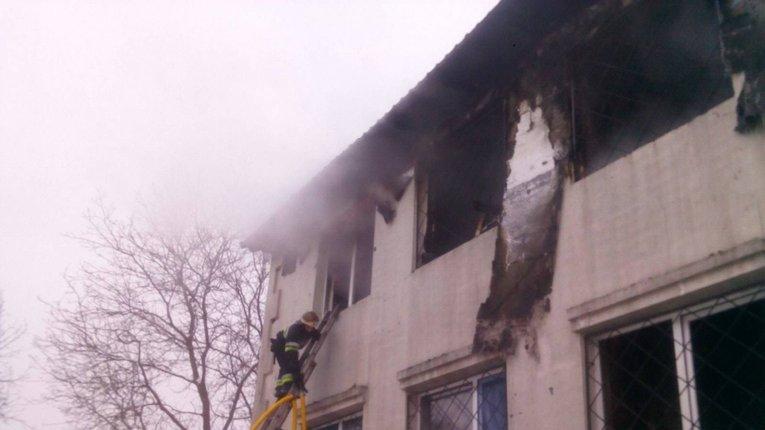 ДСНС: пожежа в харківському будинку для літніх людей забрала життя 15 людей, ще 9 – госпіталізовано