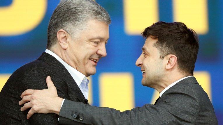 Партія Порошенка вийшла на перше місце серед партій, у президентському рейтингу лідирує Зеленський
