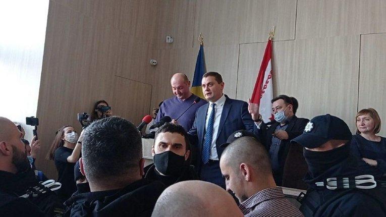 Мовний скандал у Черкасах