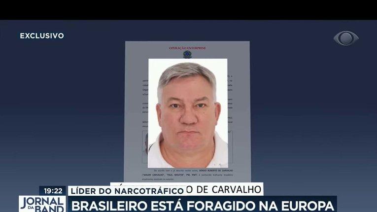 Розшукуваний поліцією наркобарон Сержіу Роберту ді Карвалью