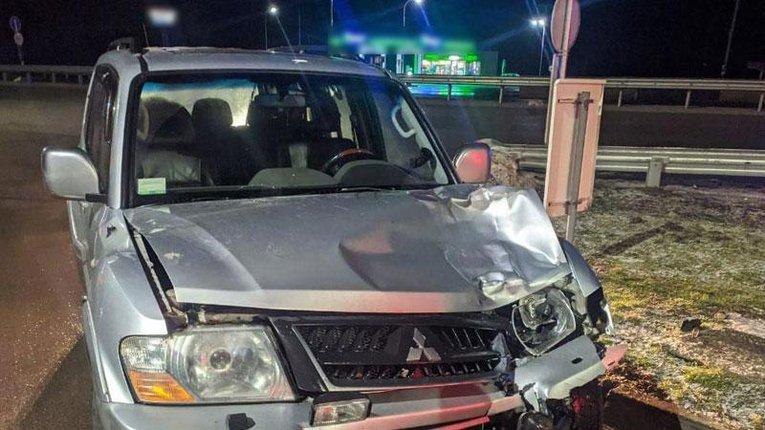 На Полтавщині водій втік з місця аварії